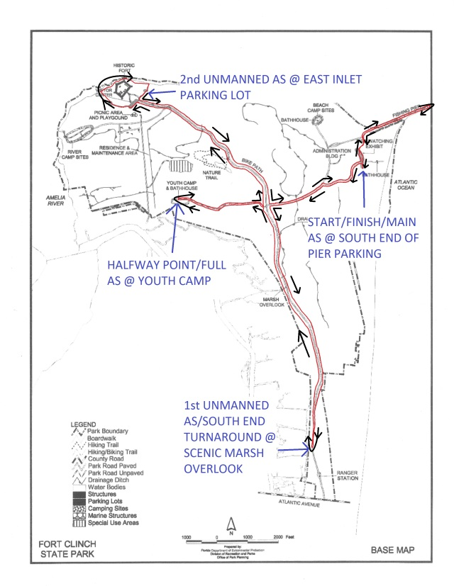 2014 FC100 COURSE MAP