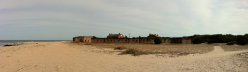 Beach section around Fort Clinch