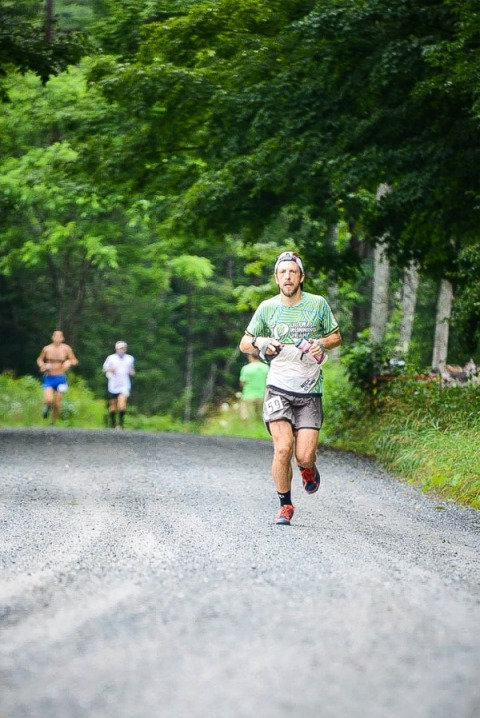 Nick Clark at the Vermont 100. Photo: Michael Lebowitz