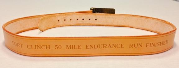 50 Mile finisher award