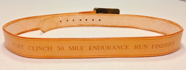 50 Mile finisher award