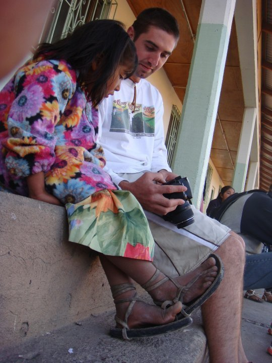 At a Tarahumara girls school. 2010.