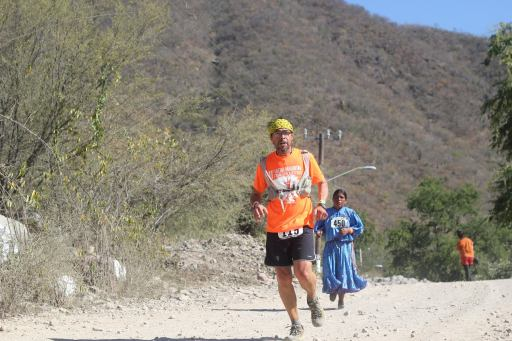 Luis running in the 2013 Ultra Caballo Blanco